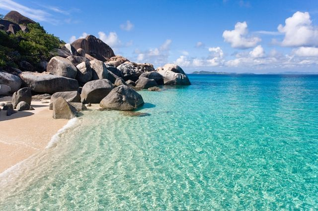 Virgin Gorda Bath, British Virgin Islands is amongst list of exotic beaches