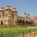 mysore-palace-india-garden-view