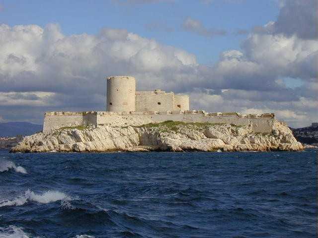 Chateau d'If prison France