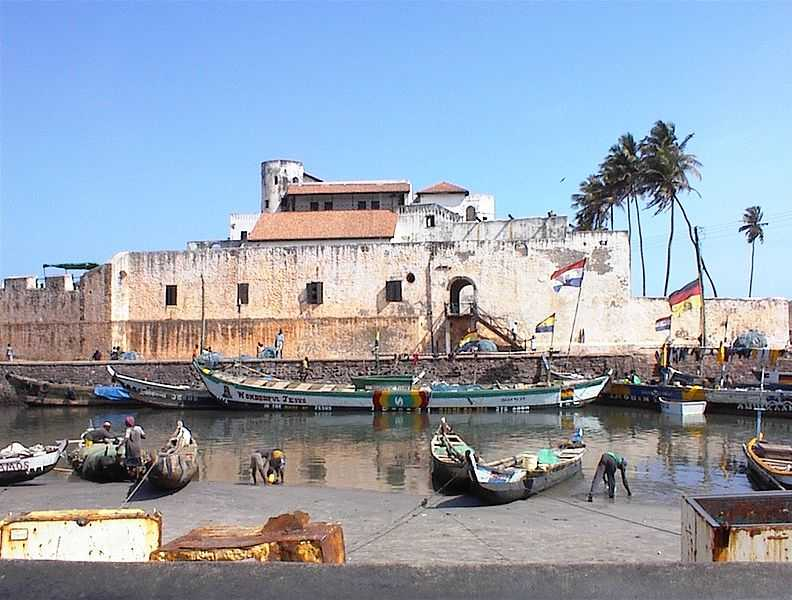 Elmina Castle Prison, Ghana