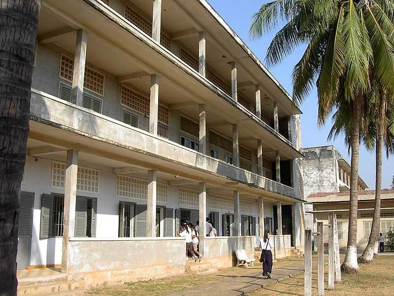 Tuol Sleng Genocide Museum Phnom Penh, Combodia