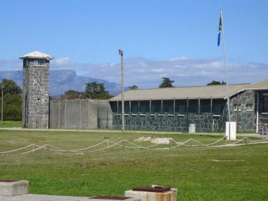Robben Island Prision in South Africa
