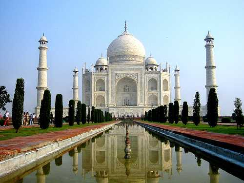 Taj Mahal Agra, India world wonders