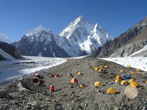 K2, China - Pakistan Border