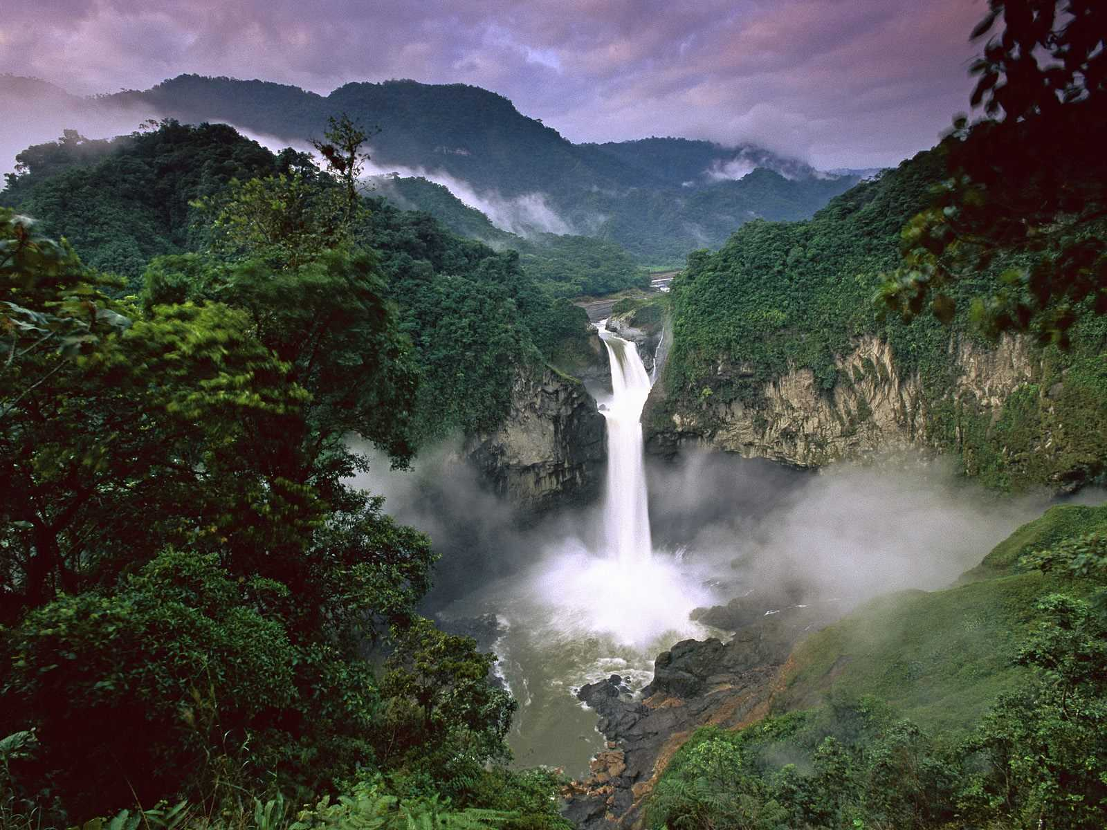 Amazon Rainforests (Amazonia), South America. Mysterious & Amazing places