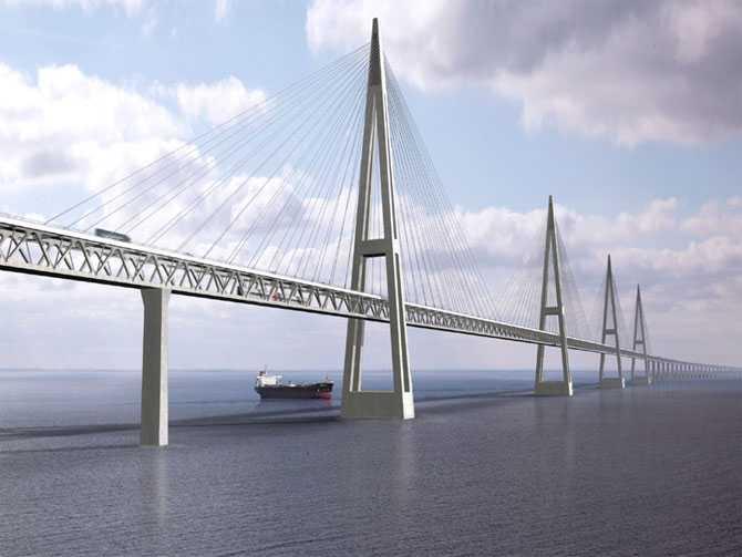 Fehmarn Belt Bridge, Denmark and Germany