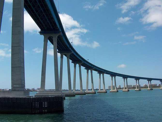 San Diego - Coronado Bridge, San Diego, US