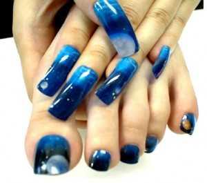 Airbrushed nails for beautiful nail art designs nail art how to airbrush nails prinsesfo Gallery