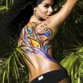 miss universe contestant - Body Painting Photo Gallery 1