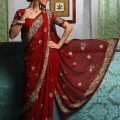 Modern Ttraditional Indian Saree Design