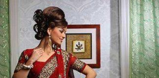 Modern Ttraditional Indian Saree Design