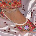 Embroidered Ethnic Indian Mojari Jutti (Footwear)