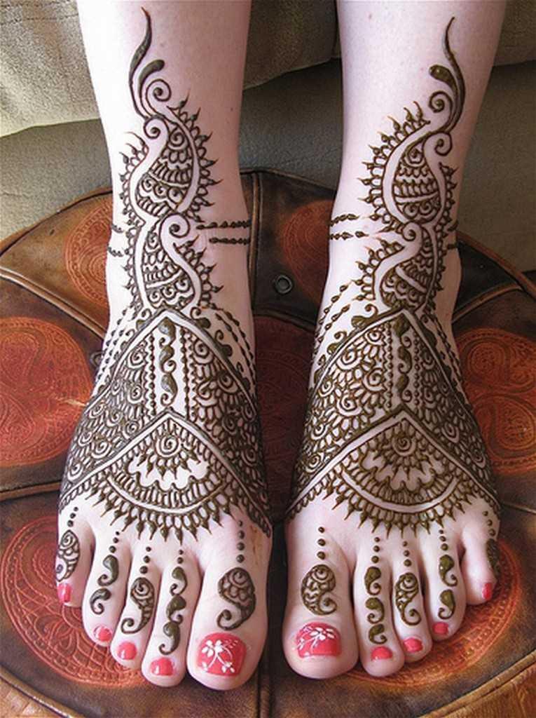 Stylish Arabic Mehndi Designs For Feet Arabic Henna Designs For