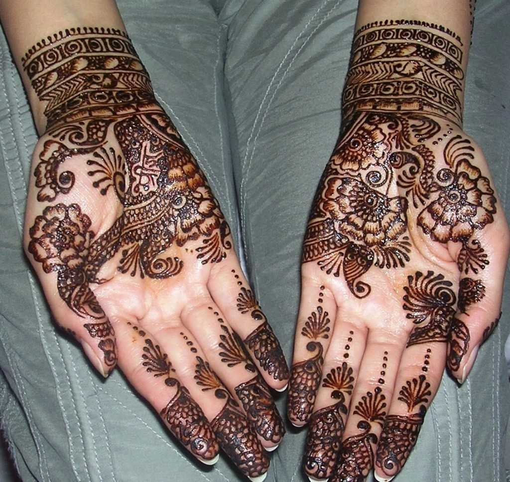 Mehndi Designs For Upper Hands : Top arabic mehndi designs for hands hand