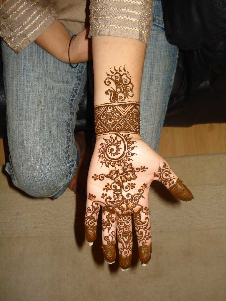 Mehndi For Hand : Indian mehndi designs for hands hand