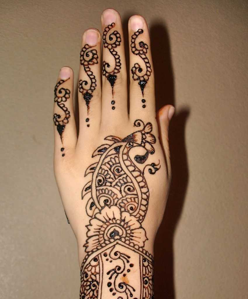 Indian Mehndi Designs For Hands  Indian Hand Mehndi