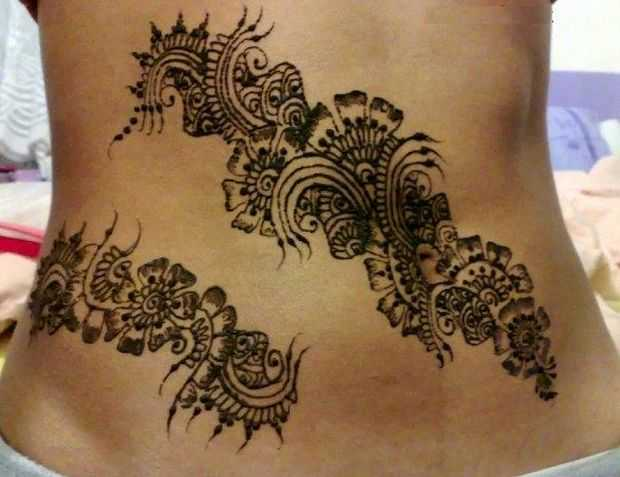 I Mehndi Henna Images : Stylish belly mehndi designs of henna for