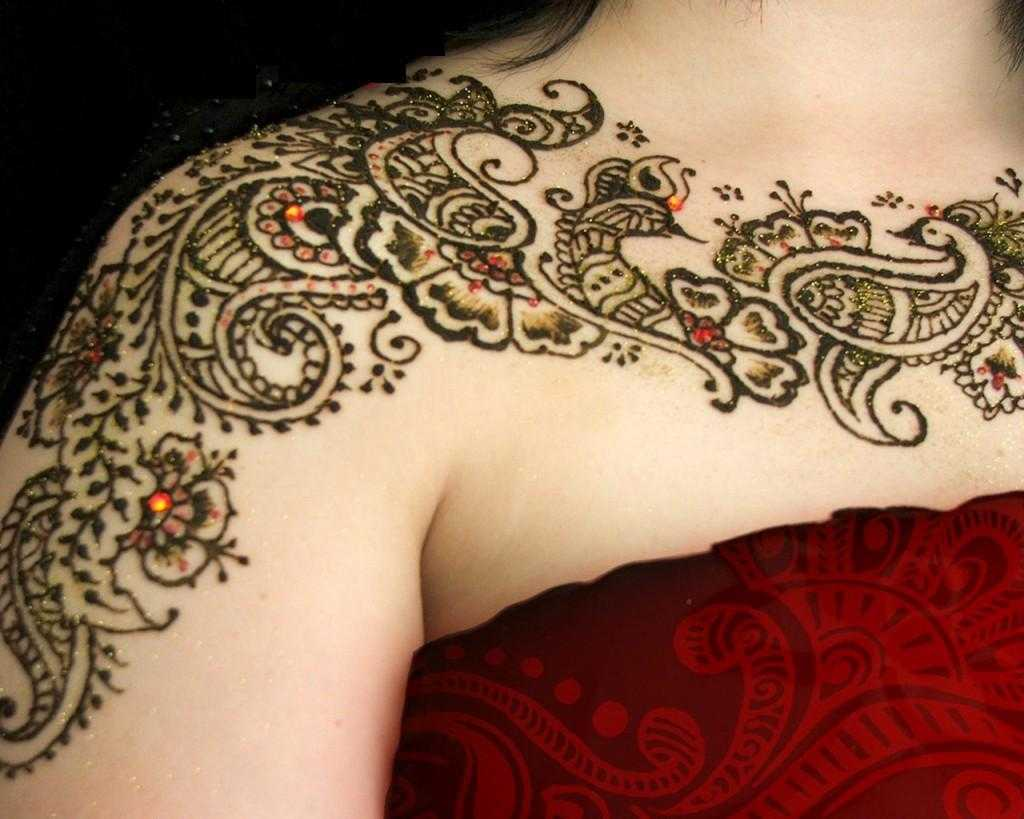 Mehndi Patterns For Shoulder : Stylish indian & pakistani mehndi designs