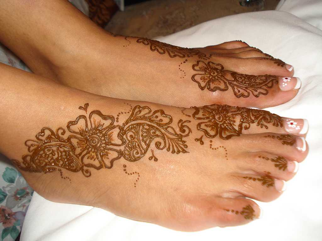 Mehndi Henna Designs For Feet : Top pakistani mehndi designs for feet foot