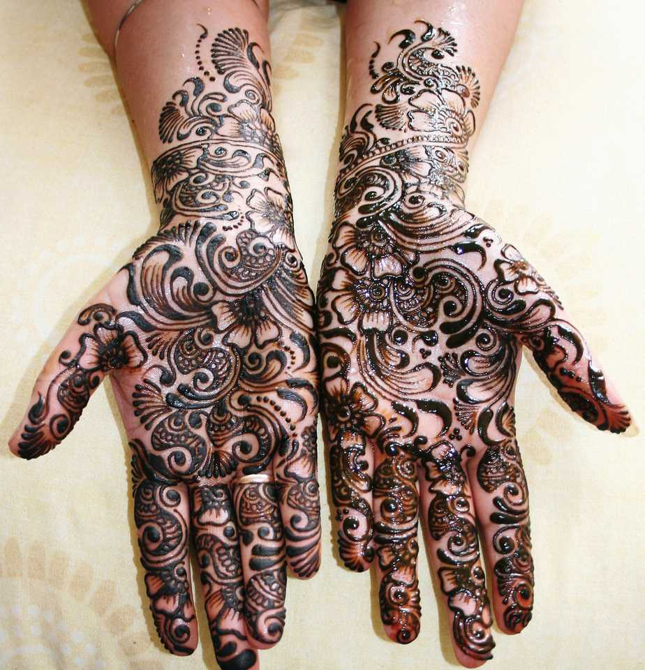 Mehndi Designs Hands Images : Top pakistani mehndi designs for hands