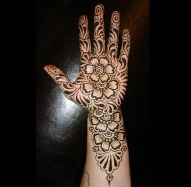 Mehndi Designs For Young Girls - Hand Henna Designs For Kids - Mehndi ...