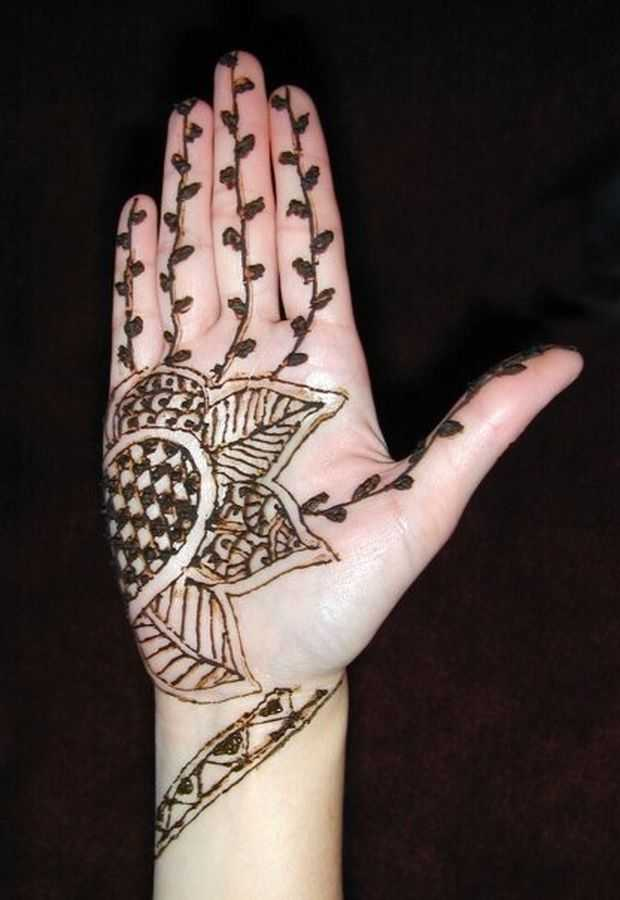Mehndi Patterns Kids : Mehndi designs for young girls hand henna