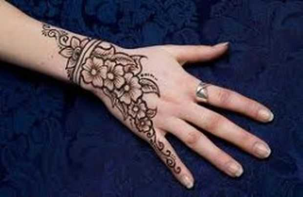 Design Of Mehndi For Children : Mehndi designs for young girls hand henna kids
