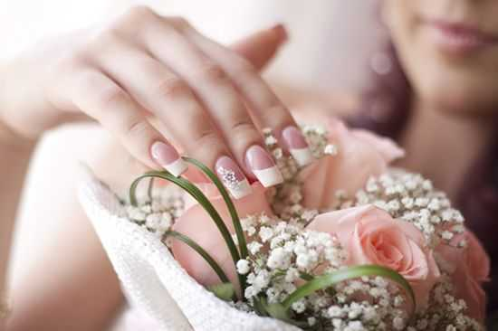 Wedding Nails Bridal Nail Art Ideas Bridal Nail Designs For Women