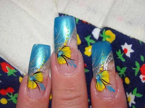 Bridal Nail Designs 7