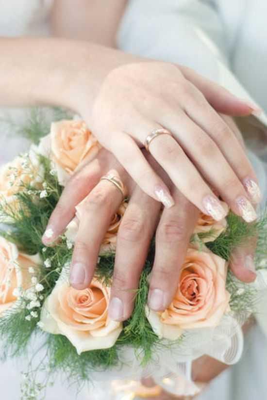 Bridal Nail Designs 6