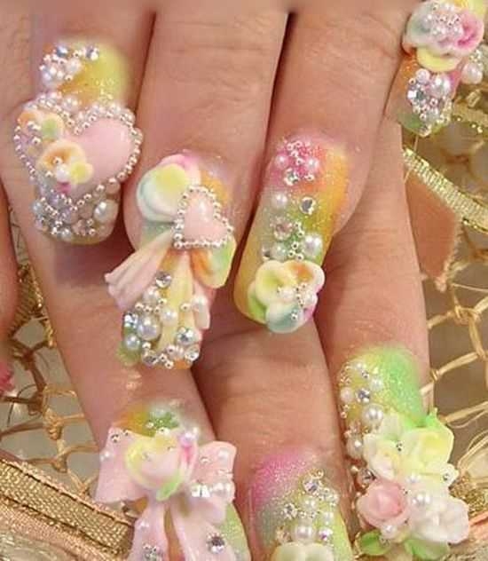 Wedding Nails Bridal Nail Art Ideas