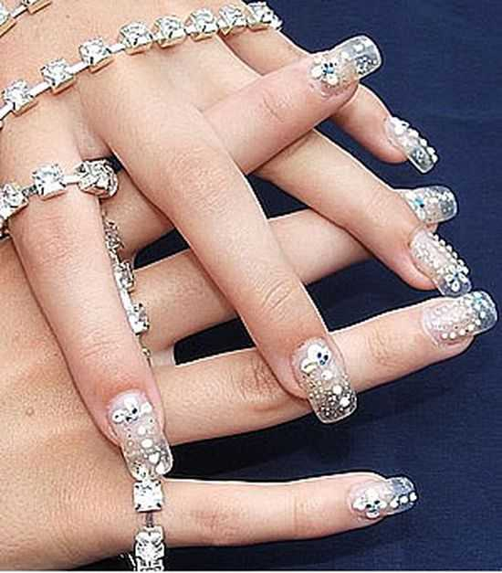 Bridal Nail Designs 4