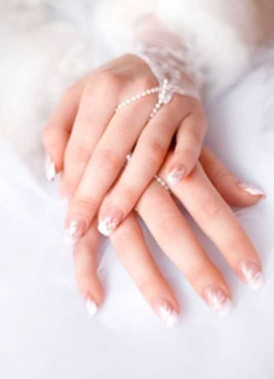 Bridal Nail Designs 2