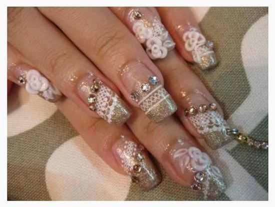 Bridal Nail Designs 17