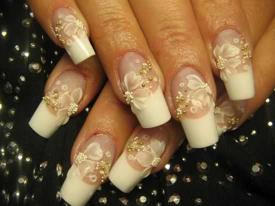 Bridal Nail Designs For Your Wedding Day