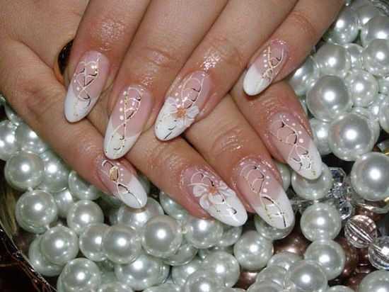 Bridal Nail Designs 16