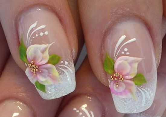 Bridal Nail Designs 12