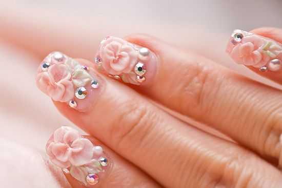 Bridal Nail Designs 11