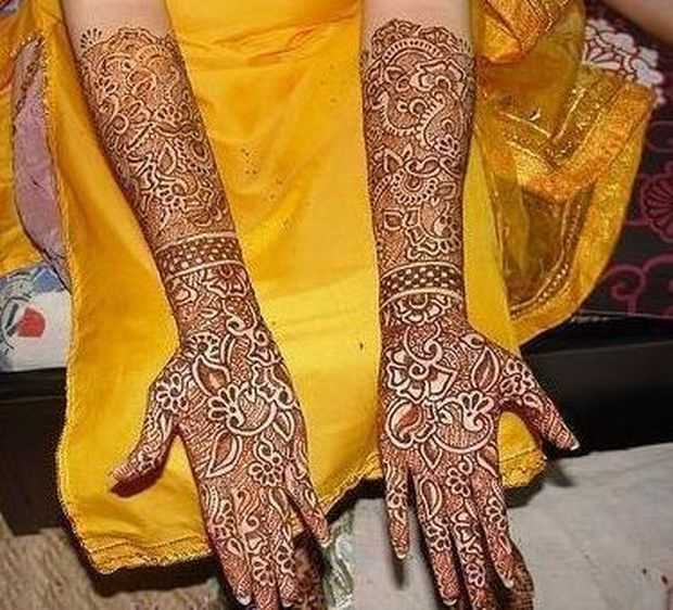 New Home Designs Latest October 2011: Stylish Arabic Mehndi Designs For Full Hands