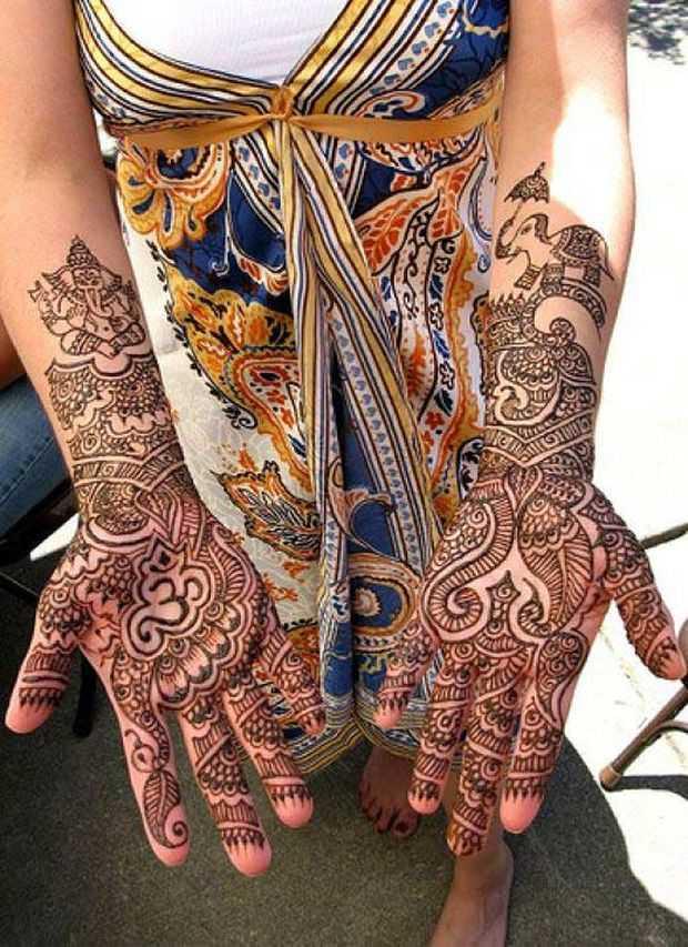 stylish arabic mehndi designs for full hands mehndi designs