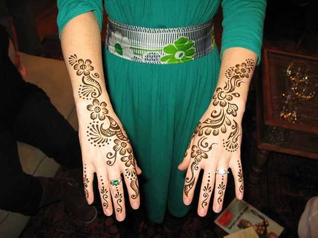 Mehndi Designs Hands Arabic Latest : Stylish arabic mehndi designs for full hands