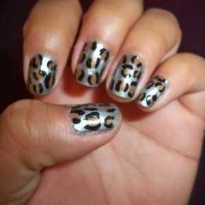 Nail art designs tiger print choice image nail art and nail tiger nail designs image collections nail art and nail design ideas nail art designs tiger print prinsesfo Images