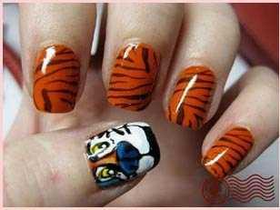 Stylish animal print nail art designs trends animal print nail art designs animal prinsesfo Images