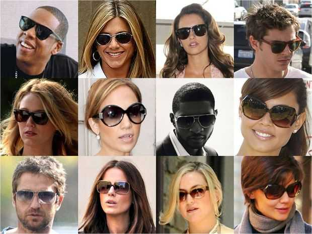 most popular designer sunglasses  Top 10 Designer Celebrity Sunglasses - Stylish Celebrity ...