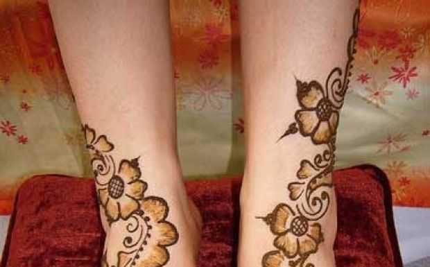 One Flower Mehndi : Stylish arabic floral mehndi designs henna