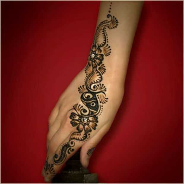 Mehndi Designs Learning Hands : Stylish arabic floral mehndi designs henna