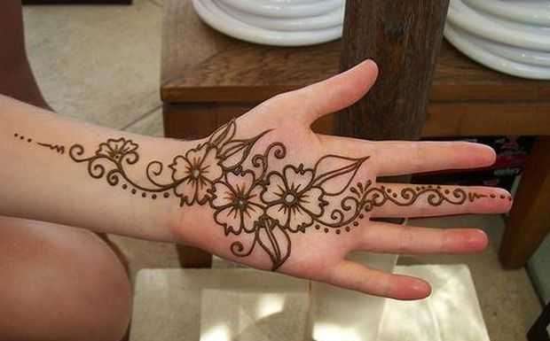Arabic Mehndi Flower : Stylish arabic floral mehndi designs henna