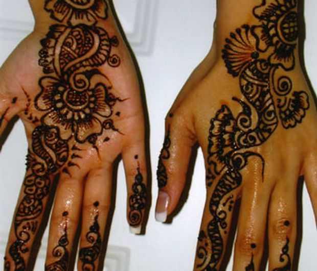 Tribal Henna Designs: African Tribal Mehndi Designs