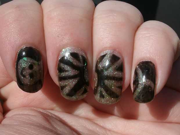 12 Innovative Turtle Nail Designs Animal Print Nail Art Fashion