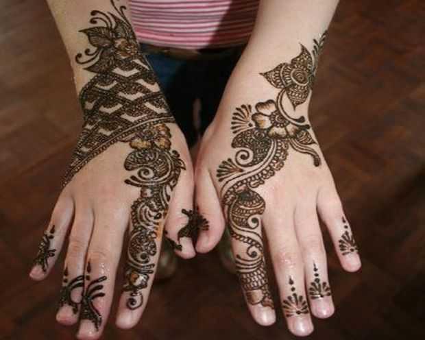 Mehndi Hand Patterns Diwali : Indian diwali mehndi designs henna for karva